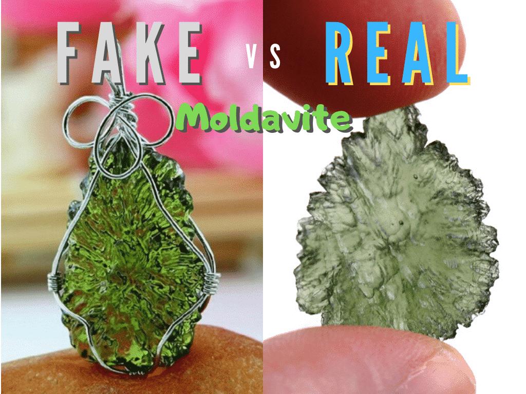 how to spot a fake moldavite