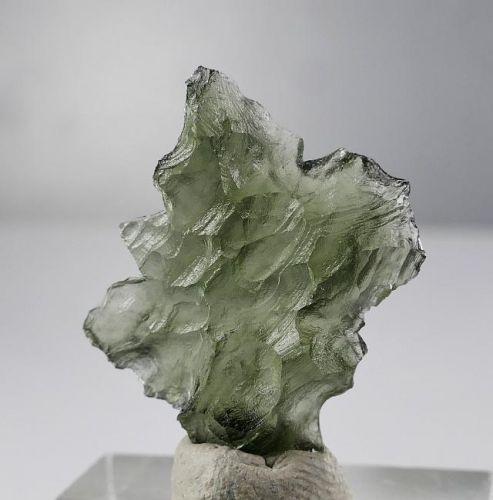 Pedra Moldavite Super Rara de Besednice 1,9 Gramas
