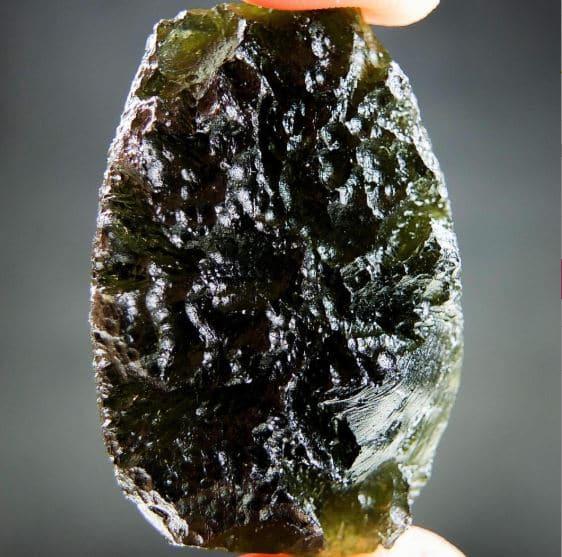 Big Shiny Moldavite A+ Quality - Certified
