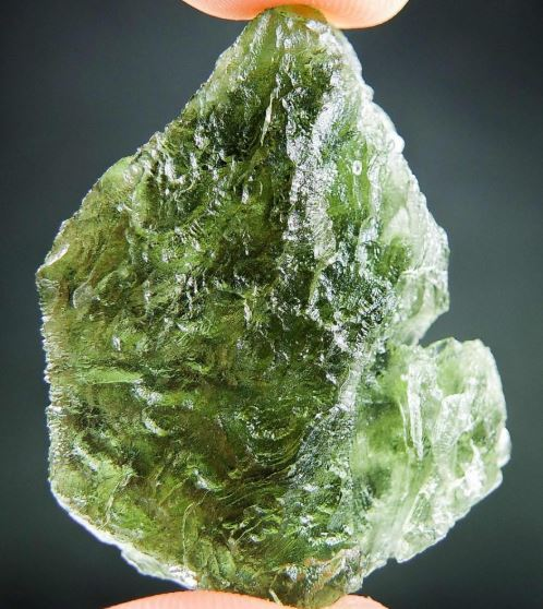 Big Shiny Moldavite - Certified