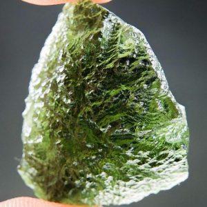 Glossy Moldavite - Certified