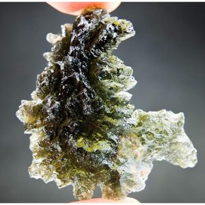 Investment Moldavite from Besednice - Certified
