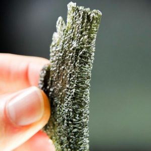 Large Investment Angel Chime Moldavite - CERTIFIED