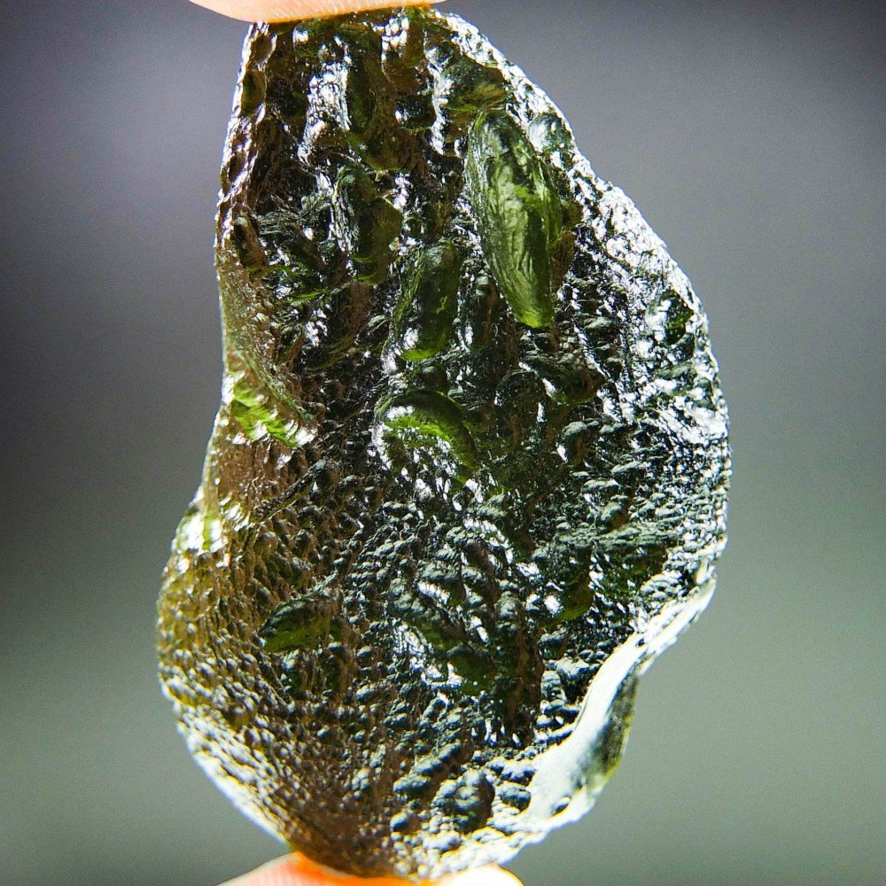Large Moldavite - Certified