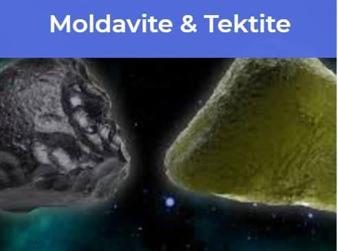 Moldavite and Tektite