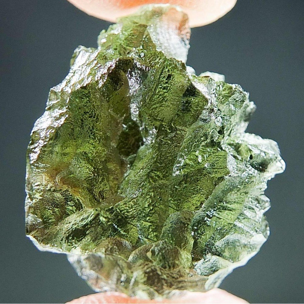 Moldavite from Besednice - Certified
