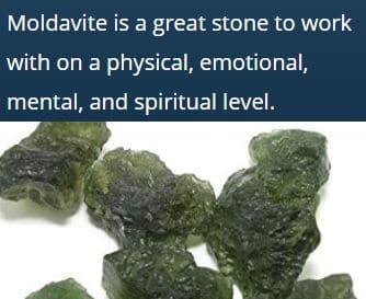 Moldavite Benefits