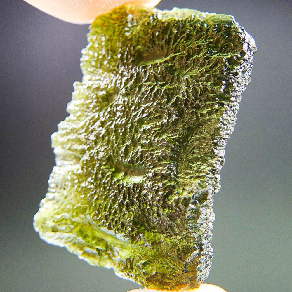 Shiny Moldavite - Certified