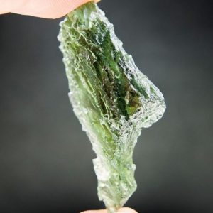 Vibrant Green Big Moldavite - Certified