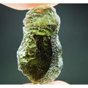 Shiny Moldavite