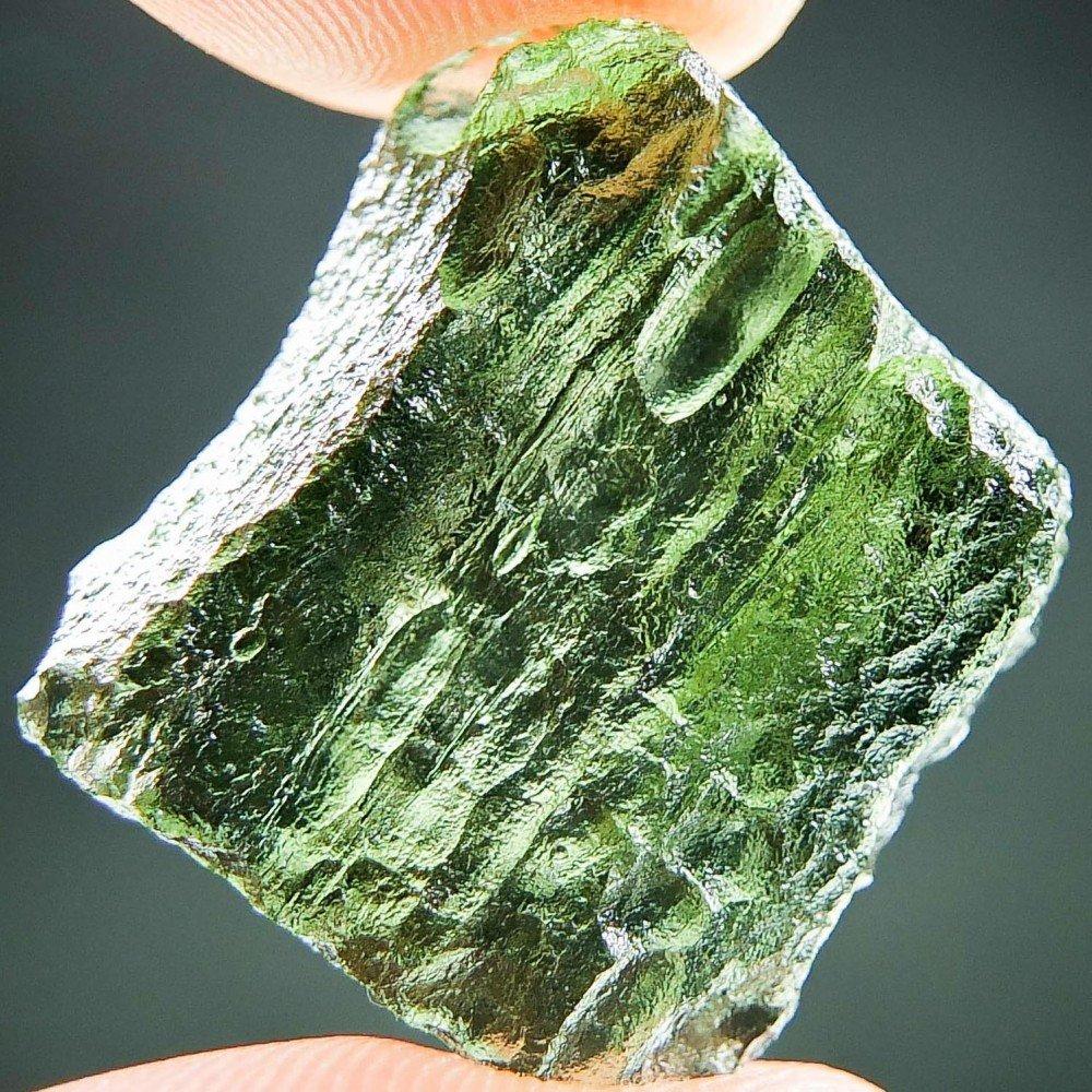 Moldavite Verde Vibrante