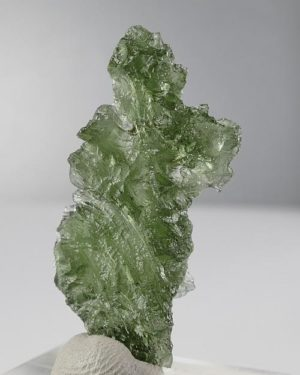 Moldavite Besednice +A Rare Shape with Certificate of Authenticity (3.7gram) 2
