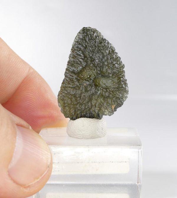 Moldavite Fine Collector Specimen with Certificate of Authenticity (5.2gram) 2