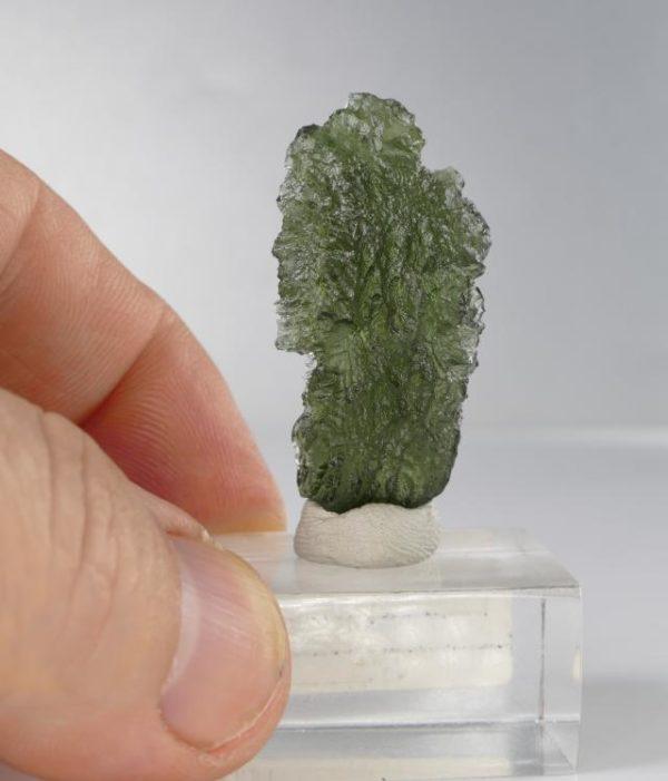 Vibrant Moldavite Fine Collector Specimen with Certificate of Authenticity (5.9grams) 2