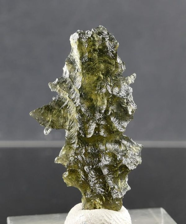 Moldavite from Besednice +A Rare Shape with Certificate of Authenticity (2.3grams) 2