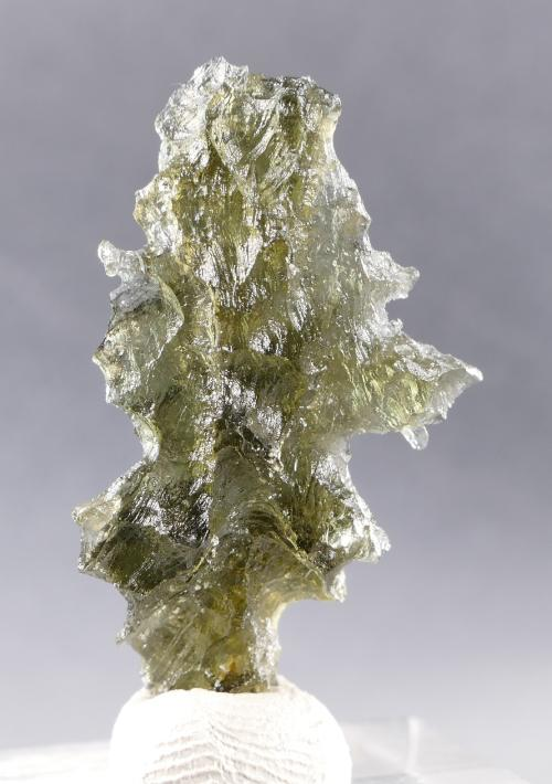 Moldavite from Besednice +A Rare Shape with Certificate of Authenticity (2.3grams) 3