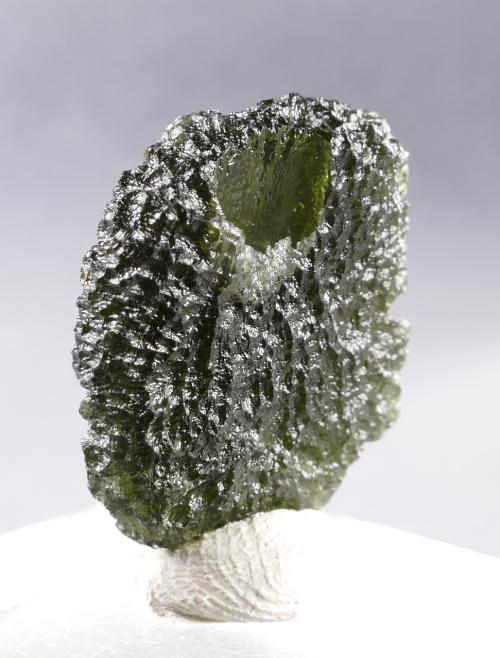 Moldavite Specimen Fine Jewelry Shape with Certificate of Authenticity (6.9grams) 3