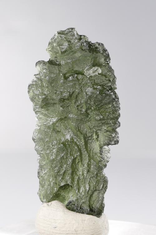 Vibrant Moldavite Fine Collector Specimen with Certificate of Authenticity (5.9grams) 5