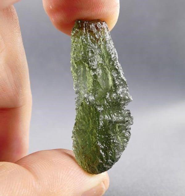 Moldavite Specimen Fine Jewelry shape (5.7grams)