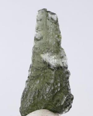 Moldavite Tear Drop Jewelry Shape Specimen (2.5grams)