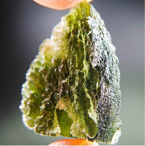 Quality A+ Moldavite Stone (6.55grams)