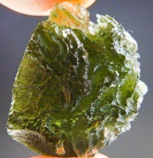 Quality A+ Moldavite Stone (6.12grams)