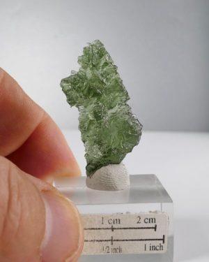 Moldavite Besednice +A Rare Shape (3.7gram)