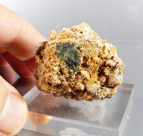 Super Rare Matrix Moldavite Specimen with Certificate of Authenticity (37grams) 1