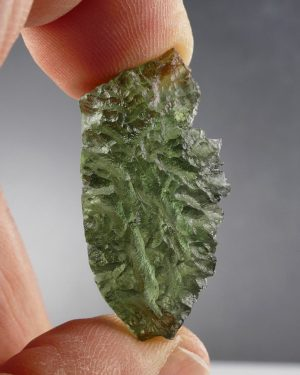 Unique Besednice Piece Moldavite with Certificate of Authenticity (2.8grams) 1