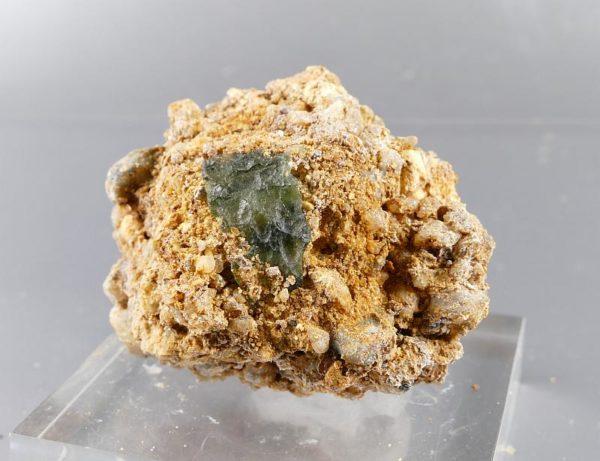 Super Rare Matrix Moldavite Specimen with Certificate of Authenticity (37grams) 2