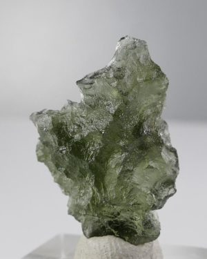 Authentic Natural Shape Besednice Moldavite with Certificate of Authenticity (3.4grams) 2