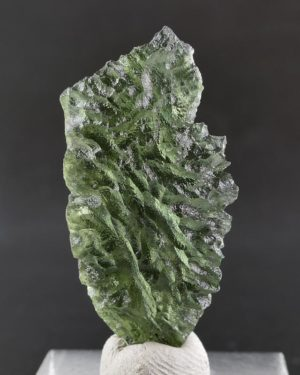 Unique Besednice Piece Moldavite with Certificate of Authenticity (2.8grams) 2