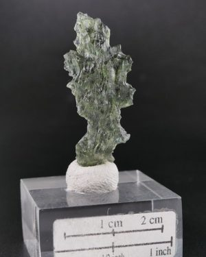 Moldavite Unique Rare Piece with Certificate of Authenticity (2.4grams) 2