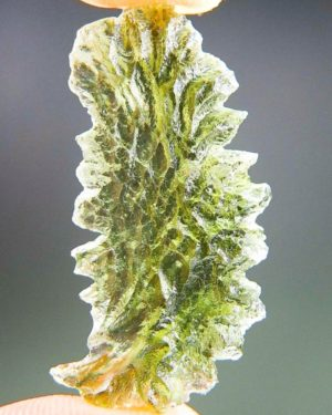 Authentic High Quality Moldavite from Basednice - With Certificate of Authenticity (2.61grams)