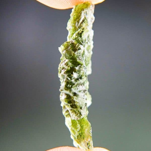 High Quality A+ Moldavite from Besednice with CERTIFICATE (3.64grams)