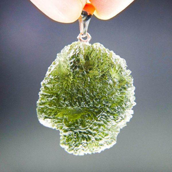 Authentic Uncommon Shiny Moldavite (9.95grams)