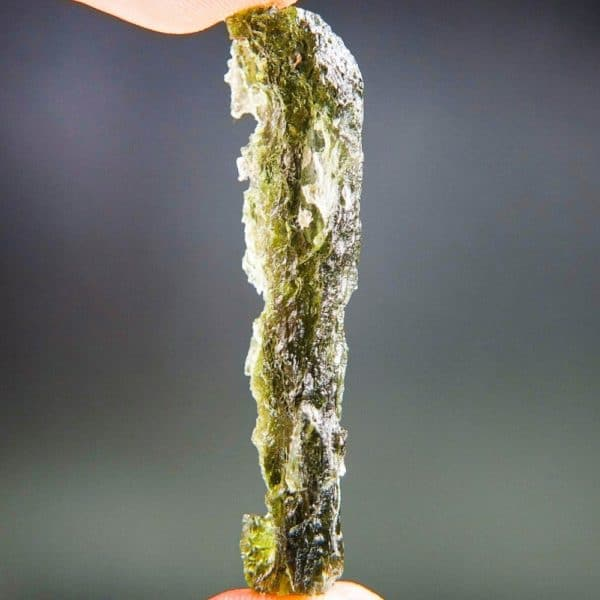 Authentic High Quality Grade Angel Chime Moldavite with Certificate of Authenticity (5.07grams)
