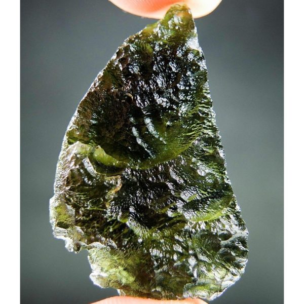 Authentic Natural Big Moldavite With Certification of Authenticity