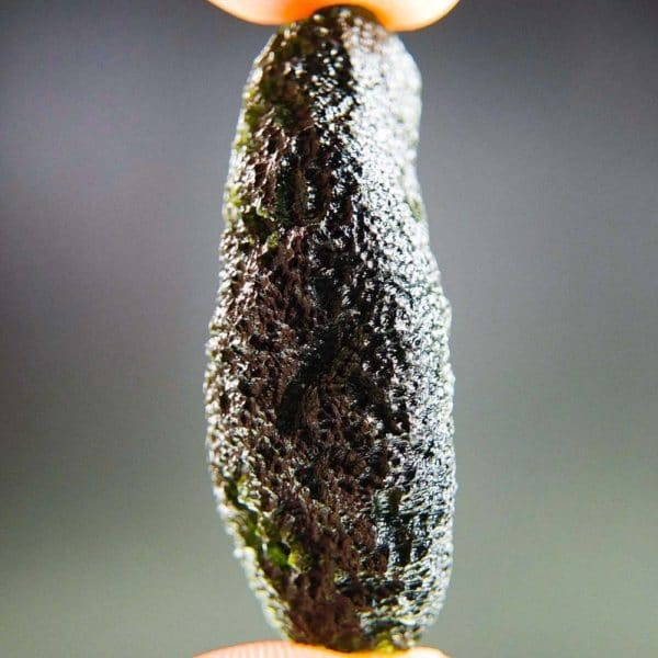 Authentic Natural Raw Shape Moldavite With Certification of Authenticity