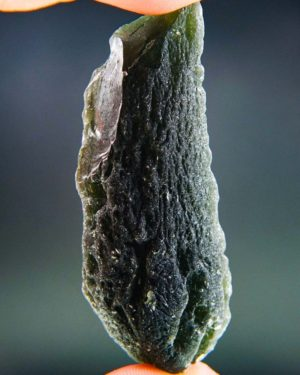 Elegant Large Moldavite Found On Surface With Certificate Of Authenticity (38.1grams)