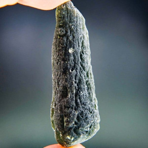 Elegant Large Moldavite Found On Surface With Certificate Of Authenticity (38.1grams)2