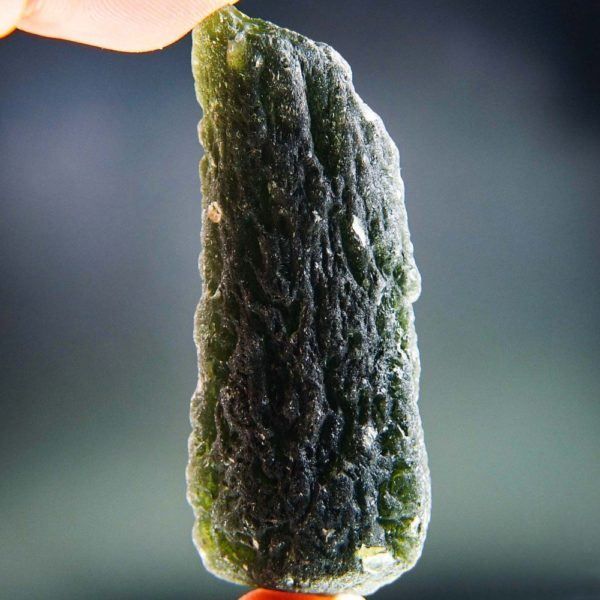 Elegant Large Moldavite Found On Surface With Certificate Of Authenticity (38.1grams)3