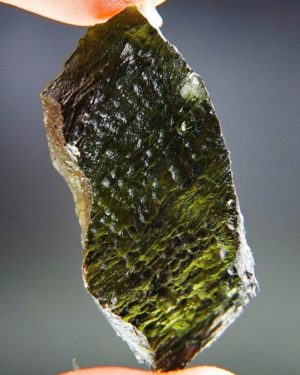 Large Moldavite with Certificate of Authenticity
