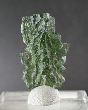 Moldavite from Basednice Unique Shape