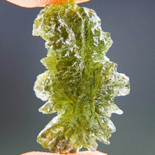 Moldavite In Excellent Fine Shape Basednice With Certificate Of Authenticity (2.53grams)2