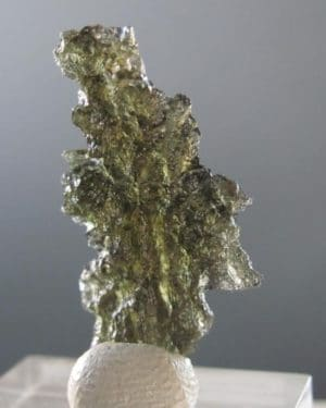 High Quality A+ Natural Fine Shape Moldavite from Basednice (2.9grams)