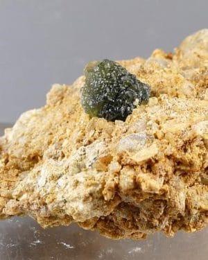 Moldavite in Matrix Specimen