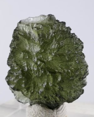 Fine Jewelry Shape Moldavite with Certificate of Authenticity (2.8grams)