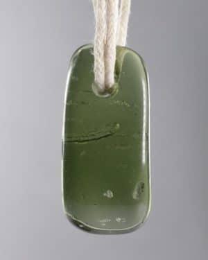 Rare Drilled Moldavite Pendant (2.7grams)