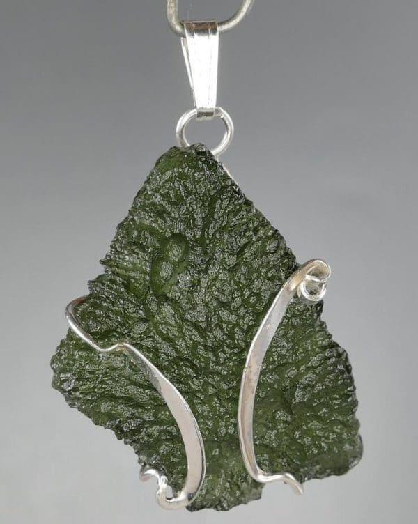 Super rare Original Design Moldavite Pendant (5.1grams)